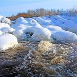 Fluxo do rio imagem de stock