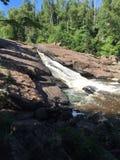 Fluxo do rio Fotografia de Stock Royalty Free