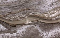 Fluxo do rio da lama Imagem de Stock