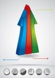 Fluxo do sucesso comercial Imagem de Stock