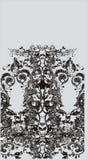 Fluxo floral ilustração stock