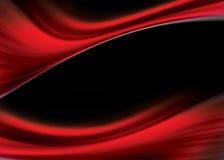 Fluxo vermelho Fotografia de Stock Royalty Free