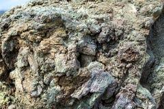Fluxo vulcânico frio foto de stock royalty free