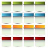Fluxograma encaixotado Fotografia de Stock