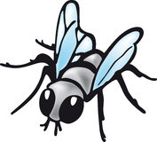 Cartoon fly Stock Image