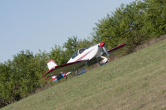 Fly-in Royalty Free Stock Photo