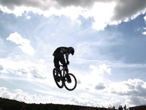 Fly [3]. Dirt jumping Royalty Free Stock Photography