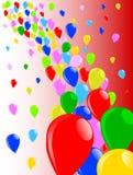 Fly Away Balloons Royalty Free Stock Photos