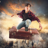 Fly away Royalty Free Stock Images