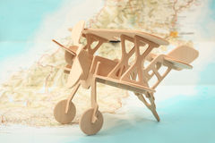 Fly away summer vacation concept Royalty Free Stock Photos