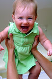 Fly baby girl Stock Photography