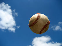 Baseball in the Sky Stock Images
