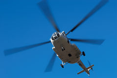 Fly big helicopter Royalty Free Stock Photos