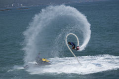 Fly Board Swirl Royalty Free Stock Image