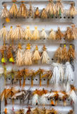 Fly Box Detail Dry Flies Stock Image