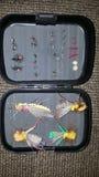 Fly box royalty free stock photography