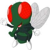 Fly cartoon. Illustration of Cute Fly cartoon royalty free illustration