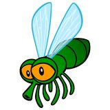 Fly Cartoon. A vector cartoon illustration of a cute cartoon Fly Royalty Free Stock Images