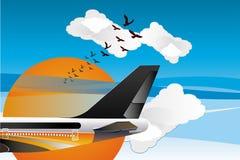 Fly in da sky 001 Stock Image