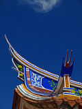 The fly-eaves of Tainan Official Mazu Temp Stock Images