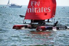 Free Fly Emirates Stock Photography - 32646582