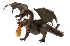 Fly fire dragon Stock Image