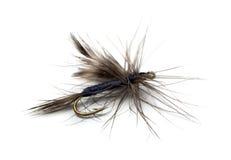 Fly fishhook Stock Photo