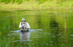 Fly-fishing Stock Photos
