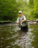 Fly Fishing Stock Image