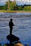 Fly fishing. Stock Photography