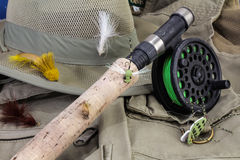 Fly Fishing Gear Stock Photos