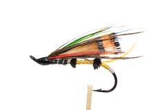 Fly fishing hook Royalty Free Stock Photography