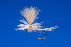 Fly fishing hook Royalty Free Stock Image