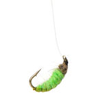 Fly fishing lure Royalty Free Stock Photos