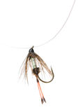 Fly fishing lure Royalty Free Stock Images