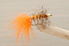 Fly Fishing Lure Royalty Free Stock Photo