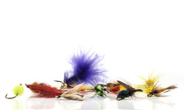 Free Fly Fishing Lures Royalty Free Stock Images - 28770919