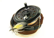 Fly Fishing Reel Stock Image