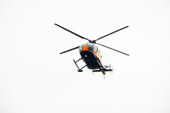 Fly helicopter show aircraft propeller flight Royalty Free Stock Photo