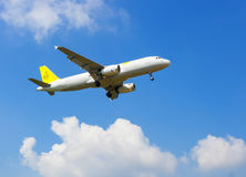 Fly High of Airplane Royalty Free Stock Image