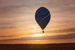 Fly in the hot air balloon Royalty Free Stock Photo