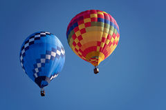 Fly in the hot air balloon Royalty Free Stock Photography