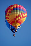 Fly in the hot air balloon Stock Images