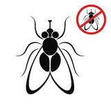 Fly. Isolated objects on white background. Vector illustration (EPS 10&#x29 stock illustration