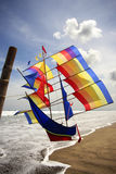 Fly a kite Royalty Free Stock Images