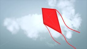 Fly a kite animation