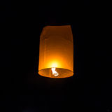 Fly  Lantern  during the Loi Krathong Festival Stock Images