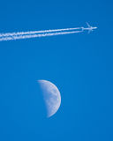 Fly me to the moon Royalty Free Stock Images