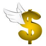 Fly money Royalty Free Stock Image