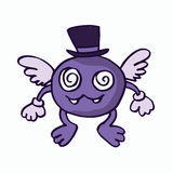 Fly monster cartoon for kids Stock Photos